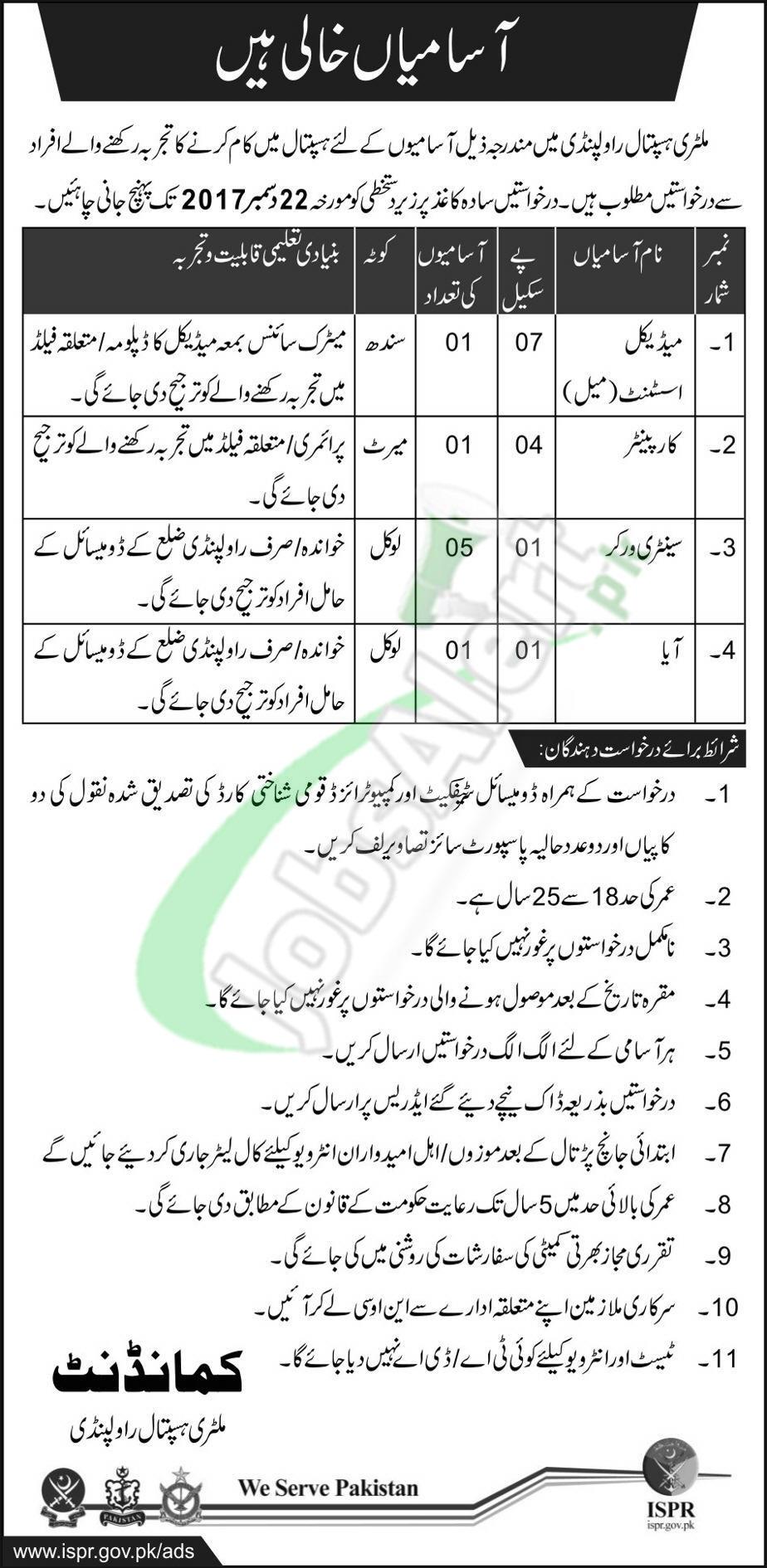 MH Hospital Rawalpindi Jobs