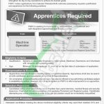 Pakistan Security Printing Corporation Apprenticeship 2018
