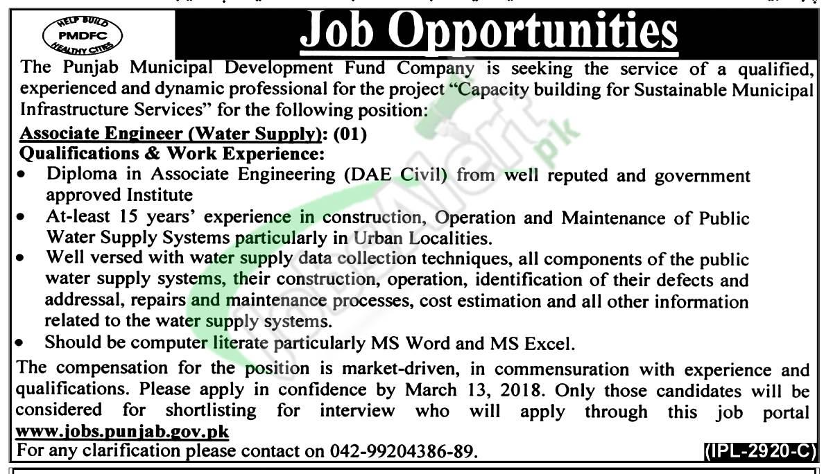 PMDFC Jobs