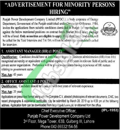PPDCL Punjab Jobs