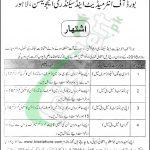 BISE Lahore Jobs