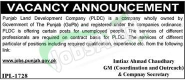 PLDC Jobs