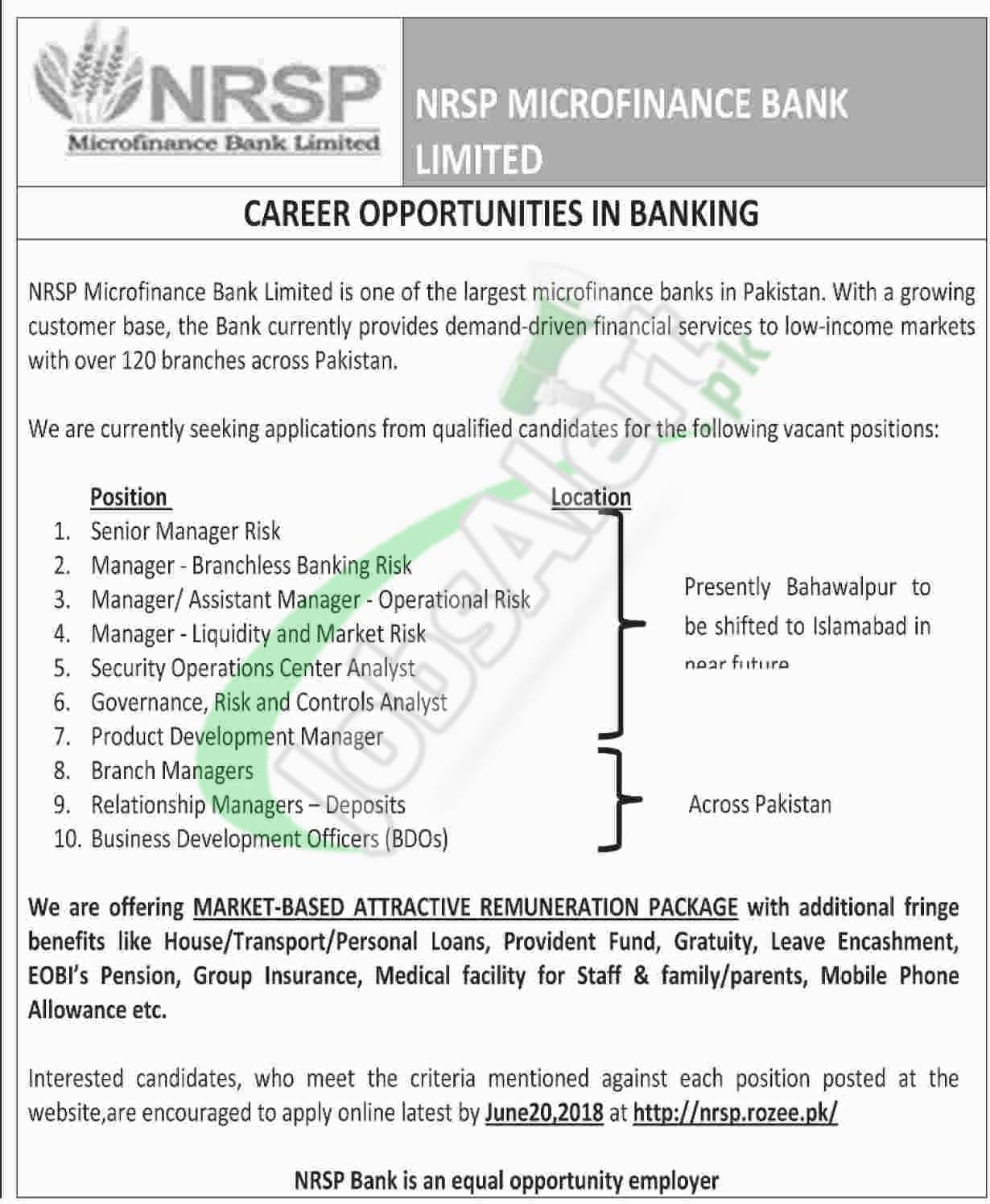 NRSP Jobs