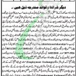 District and Session Court Karak Jobs