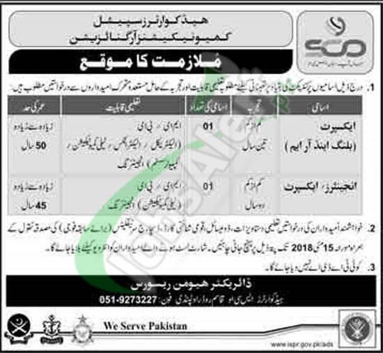 SCO Rawalpindi Jobs