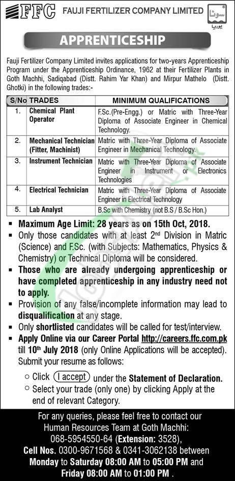 FFC Apprenticeship