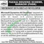 Fazaia Housing Scheme Karachi Jobs