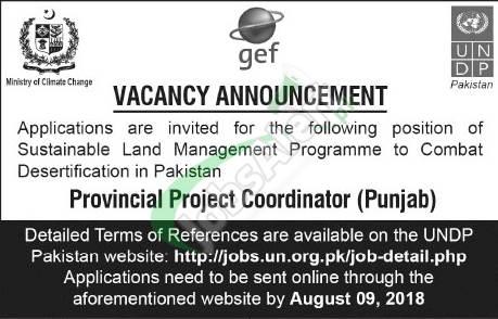UNDP Pakistan Jobs
