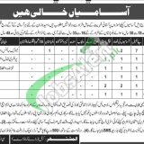 Combined Military Hospital Nowshera Jobs