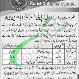 Manjanbazam Cadet College Jobs