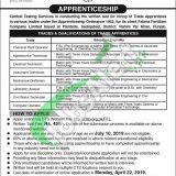 Fatima Fertilizer Apprenticeship 2019