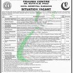 Civil Hospital Karachi Jobs