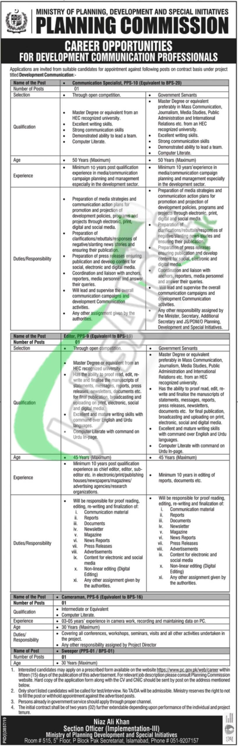 Career Opportunities for Development Communications Professionals