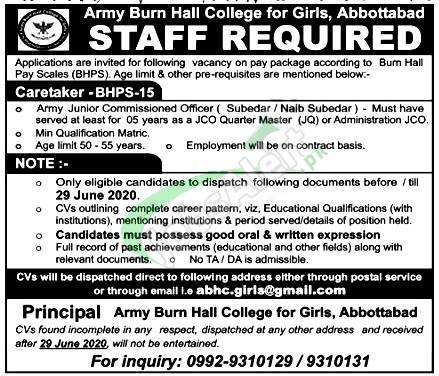 Caretaker Jobs
