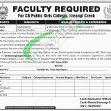 Karachi Cantonment Board Jobs 2019