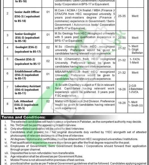 Ministry Of Energy Petroleum Division Jobs 2018