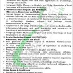 PO Box 516 GPO Peshawar Jobs