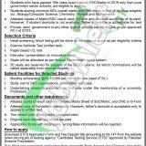 Pakistan Science Foundation Scholarship