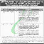 Railway Jobs in Lahore 2019