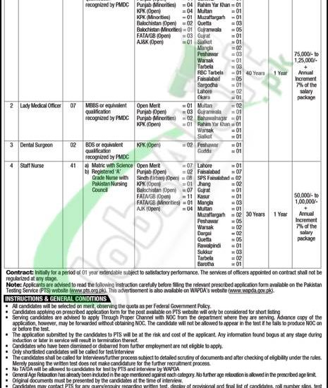 wapda jobs 2018 apply online application form www wapda gov pk