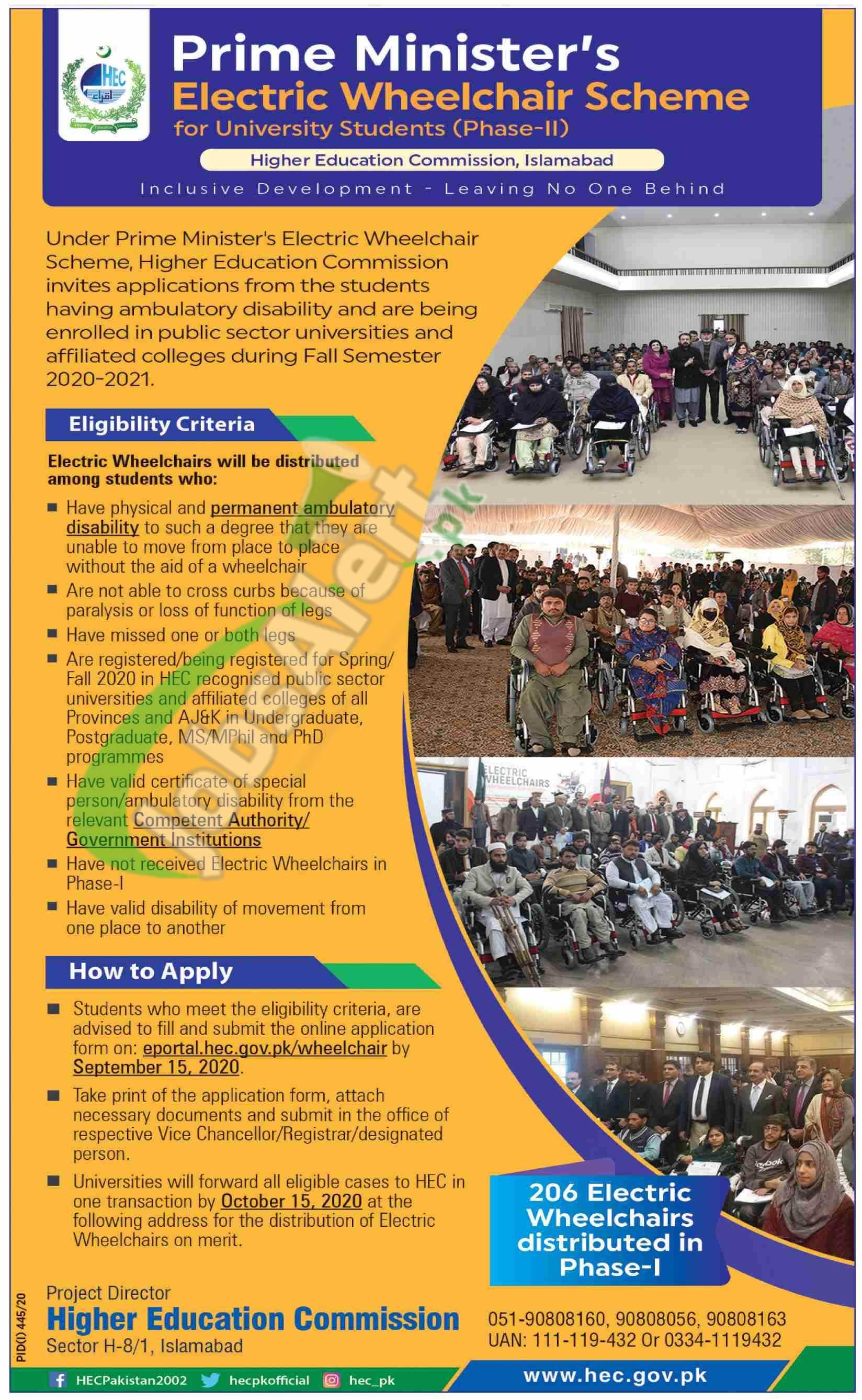 PM Electric Wheelchair Scheme 2020 Apply Online Detailed Eligibility Criteria