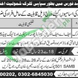 Mujahid Force Jobs 2019