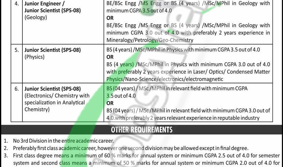 www paec gov pk Jobs 2019 Application Form Online Apply