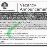 PPL Jobs 2019