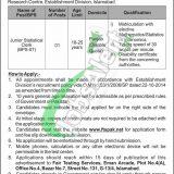 Pakistan Public Administration Research Centre Jobs 2019