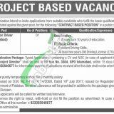 PO Box 3304 Islamabad Jobs