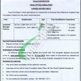 Fauji Foundation Jobs 2019 Application Form Download - www fauji org