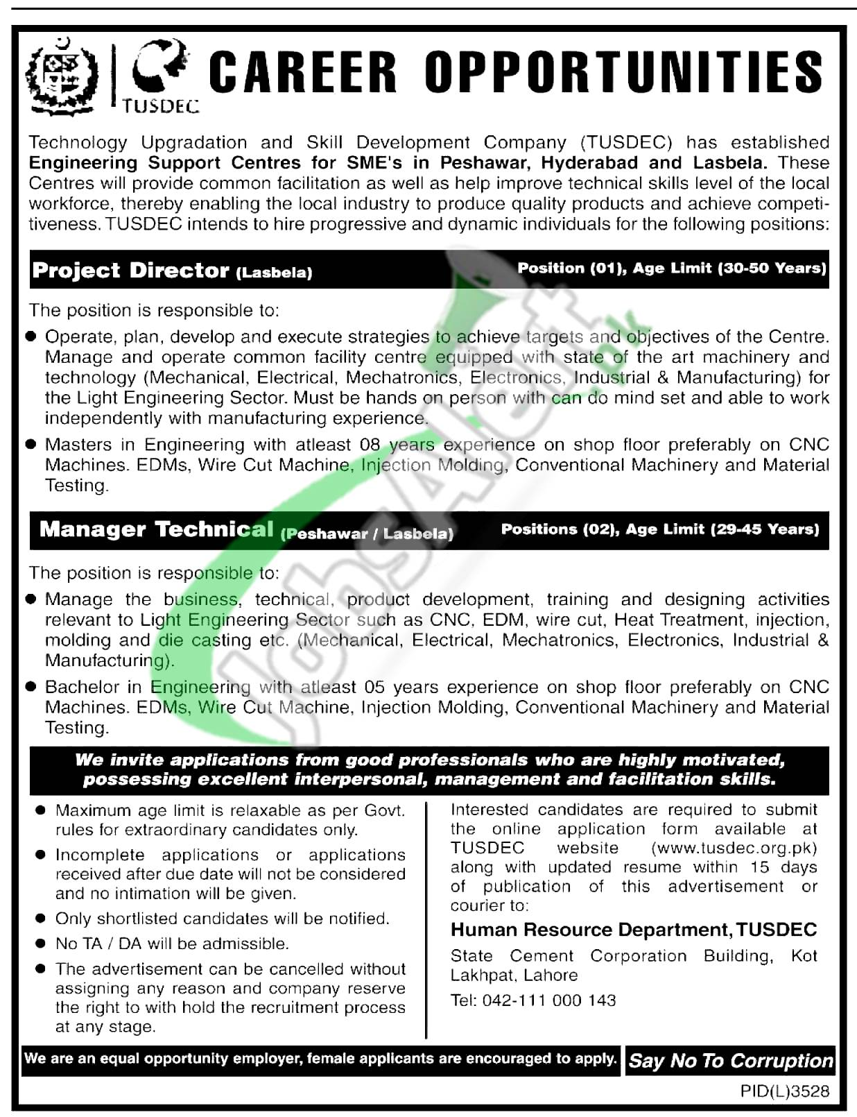Manager Technical Jobs