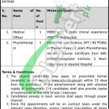 Cantonment General Hospital Sialkot Jobs