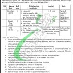 Ministry of Housing & Works Islamabad Jobs