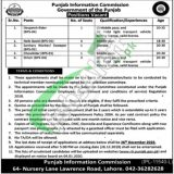 Punjab Information Commission Jobs