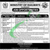 Ministry of Railways Pakistan Jobs