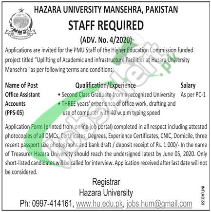 Office Assistant Accounts Jobs