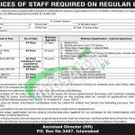 PO Box 3407 Islamabad Jobs