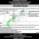 District Health Officer Islamabad Jobs