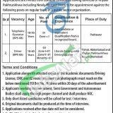 PO Box 290 Peshawar Jobs