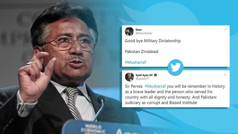 Pakistan Army General Pervez Musharraf tweeter followers shows how credibility he is