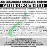 National Disaster Risk Management Fund Jobs