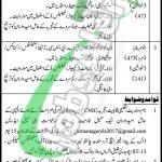 Directorate of Labour Government of Sindh Jobs