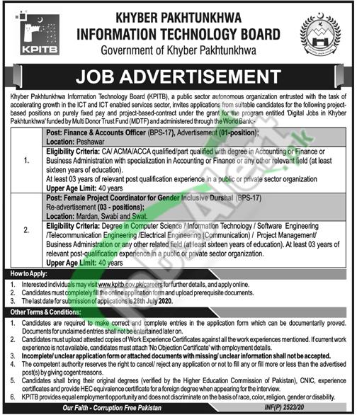 KP IT Board Jobs