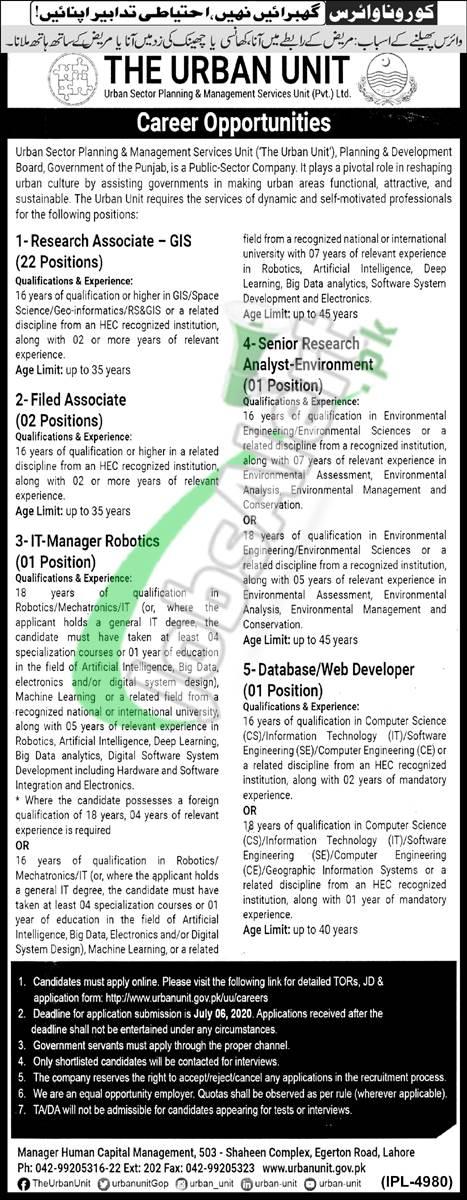 Research Associate - GIS Jobs
