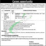 Industrial Estate Multan Jobs