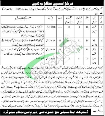 District and Session Court Dir Lower Jobs