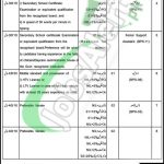 District and Session Court Bannu Jobs