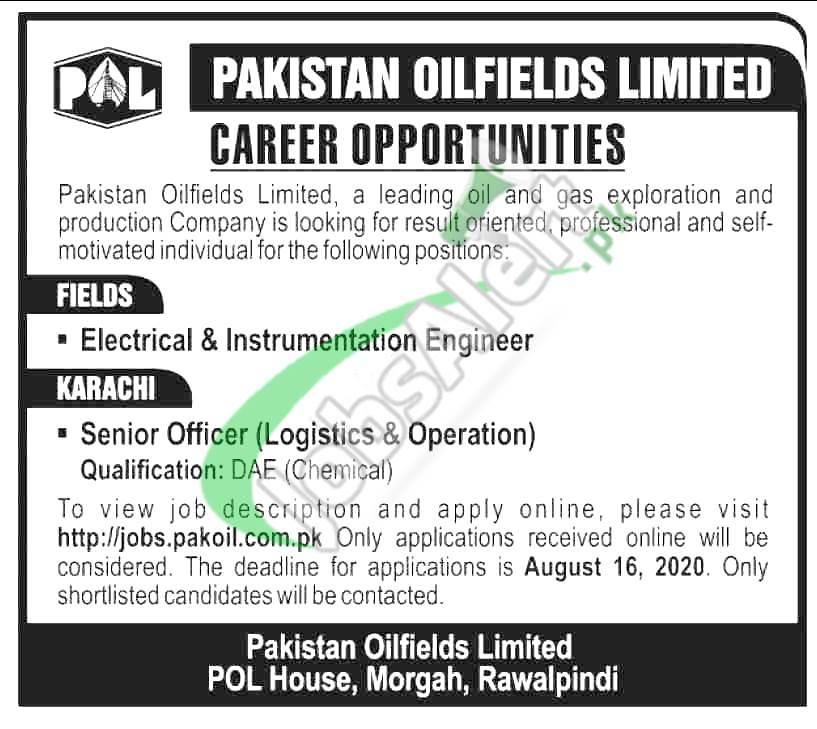 Electrical & Instrumentation Engineer Jobs
