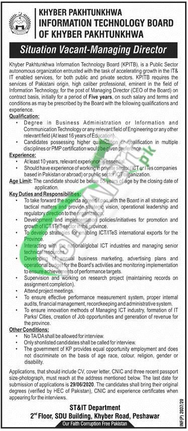 Managing Director Jobs